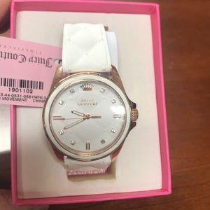 Juicy Couture Women's Watch 1901102 Stella White